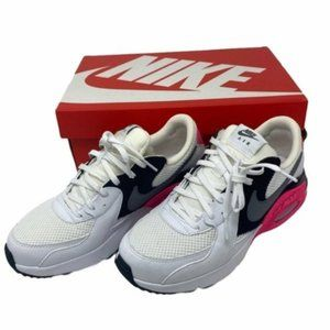 Nike Air black, white, pink MAX EXCEE size 8